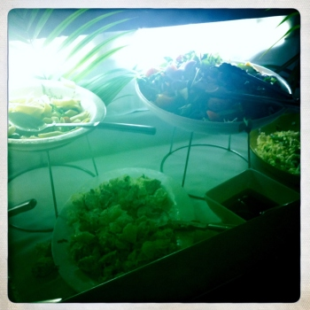 And the prize for the world's most boring salad bar goes to...