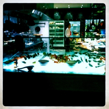 Fresh Seafood Station