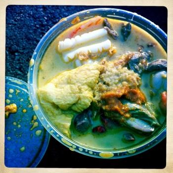 Seafood Laksa AU$8