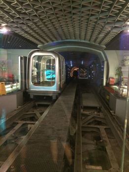 The beginning of the Bund Sightseeing Tunnel