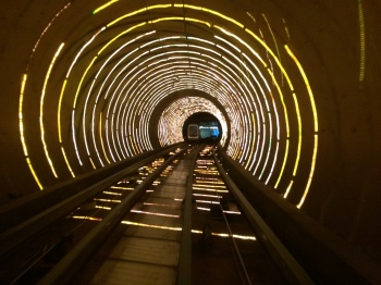 More of the bizarre Bund Sightseeing Tunnel
