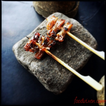 Skewered Duck Tongues