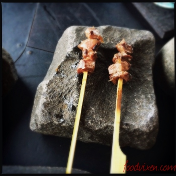 Skewered Lamb's Hearts