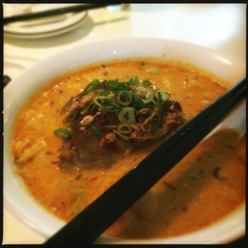 Roasted Duck Laksa (AU$15.90)