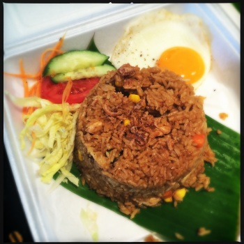 Nasi Goreng with Chicken (AU$13)