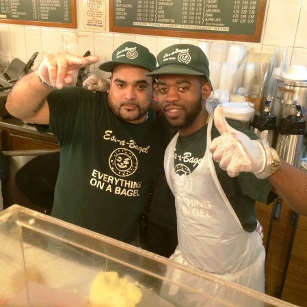 Big shout-out to these super dooper bagel artists and all round awesome guys - Mad Rican and Gavin